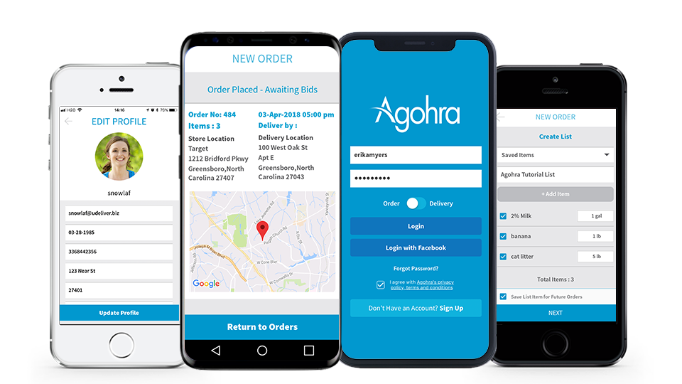 Agohra Delivery App - Home Delivery Made Easy and Convenient